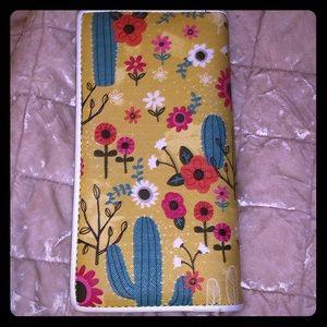 Handbags - Cactus and Floral Print Wallet